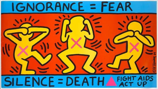 ACT UP: Ignorance = Fear