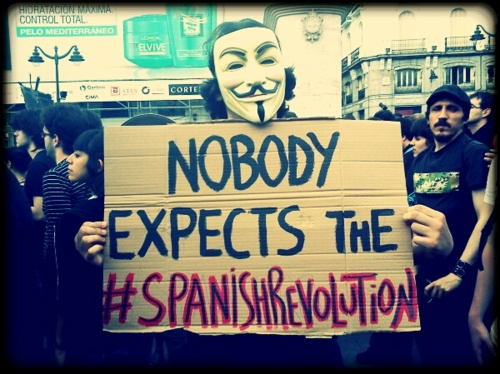Nobody Expects the #Spanish Revolution