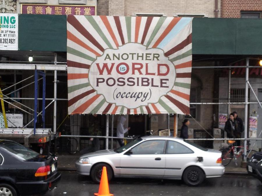 Another World is (still) Possible (Occupy Sandy)
