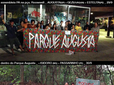 From Augusta to Gezi - Recaiming our Parks