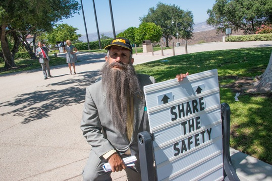 Share the Safety Press Conference - Outside the Ronald Reagan Library