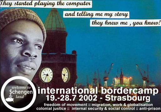 no border camp Strasbourg 2002