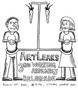 3rd ArtLeaks Working Assembly - Belgrade