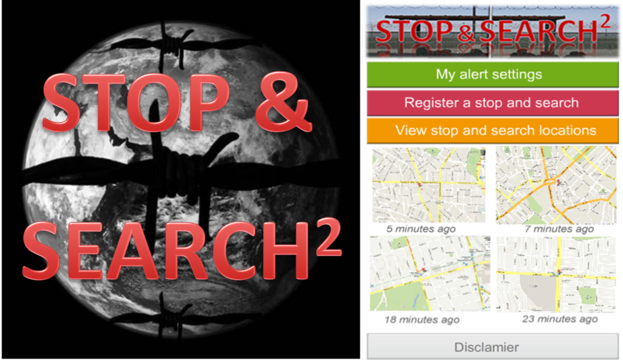 Immigrant X Stop and Search App