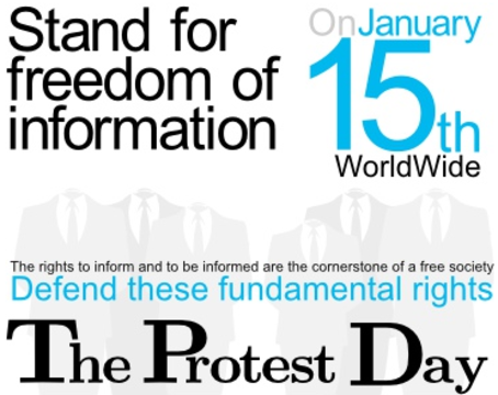 Freedom of Informatuomn Global Protest (poster)