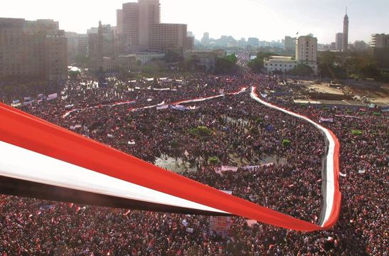 Friday of Victory, Tahrir Square, Cairo