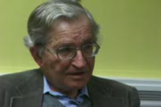 Informed Dissent: Noam Chomsky on the connection between the Marshall plan and oil and how globalisation will result in an increase in Terrorism.