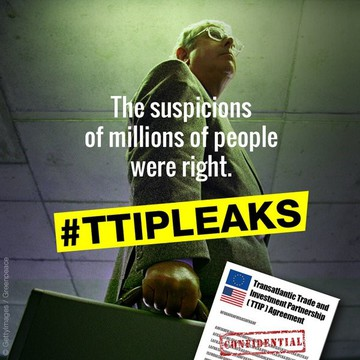 "TTIP ""worst fears were right"""