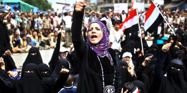Yemeni Stduent protests