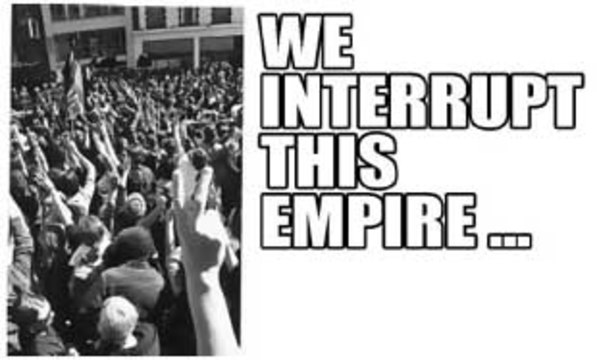 WE INTERRUPT THIS EMPIRE