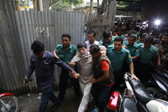 Shahidul Alam taken to court, August 6, 2018