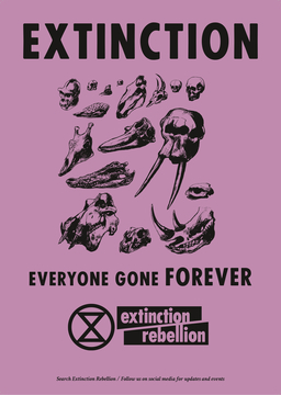 Extinction Rebellion Poster